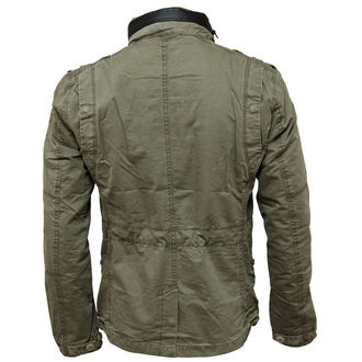 spring/fall jacket men's - Britannia - BRANDIT - 3116-oliv