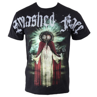 t-shirt metal men's Smashed Face - Misanthropocentric - - Black - 05