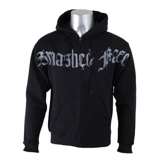hoodie men's Smashed Face - Misanthropocentric - - Black, Smashed Face