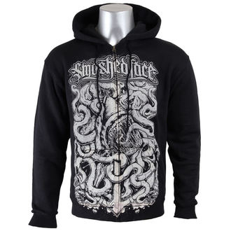 hoodie men's Smashed Face - Shark - - Black, Smashed Face