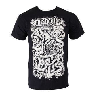 t-shirt metal men's Smashed Face - Shark - - Black, Smashed Face