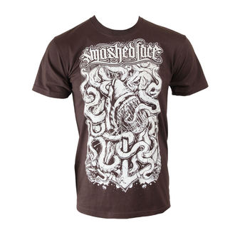 t-shirt metal men's Smashed Face - Shark - - Chocolate, Smashed Face