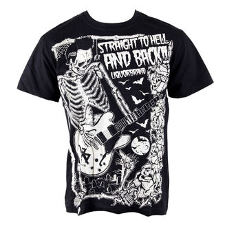 t-shirt hardcore men's - To Hell And Back - LIQUOR BRAND - 138