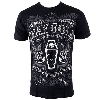 t-shirt hardcore men's - Stay Gold - LIQUOR BRAND - 188