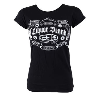 t-shirt hardcore women's - Coffin - LIQUOR BRAND - 073