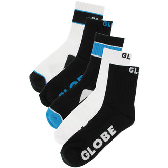 socks -set 5 pairs- GLOBE - Destroyer - BLK
