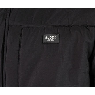 jacket men winter -canvas- GLOBE - Meanwood - BLACK