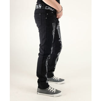 pants women 3RDAND56th - Steam Punk Skinny Jeans