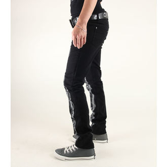 pants women 3RDAND56th - Steam Punk Skinny Jeans - JM1025