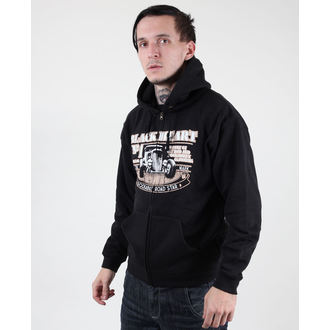 hoodie men's - Road Star - BLACK HEART - Road Star - Black