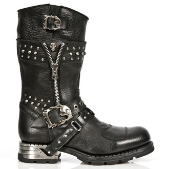 boots leather - MR022-S1 - NEW ROCK - M.MR022-S1