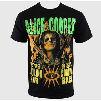t-shirt metal men's Alice Cooper - Graveyard - ROCK OFF - ACTEE05