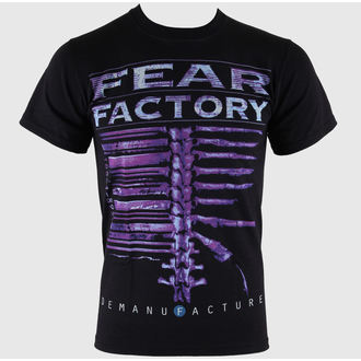 t-shirt metal men's Fear Factory - Demanufacture - LIVE NATION - RTFFA0010
