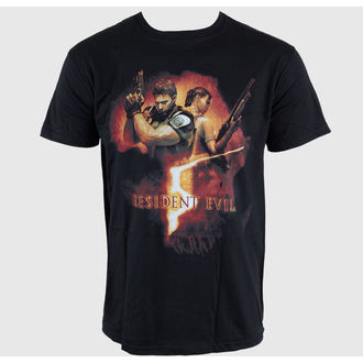 film t-shirt men's Resident Evil - Back To Back Gun Pose - EMI - TSB9801