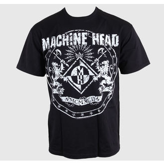t-shirt metal men's Machine Head - Classic Crest - ROCK OFF - MAHTEE03MB