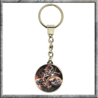 pendant Anne Stokes - Keyring - Hell Rider - NOW7203