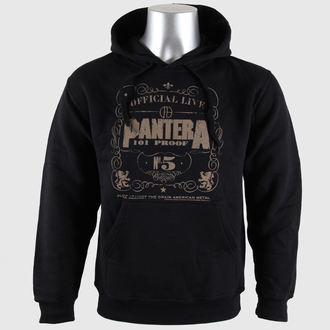 hoodie men's Pantera - 101 Proof - BRAVADO EU - PANHD01MB