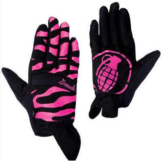 gloves women GRENADE - Instinct - Black / Purple