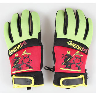 gloves GRENADE - Bob Gnarly - Rasta / Red