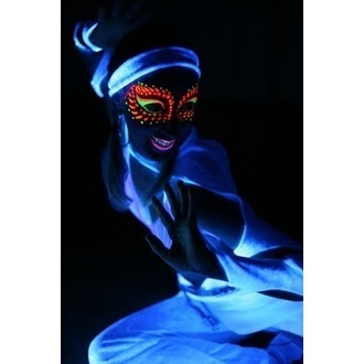 color to body a face STAR GAZER - Neon Silver