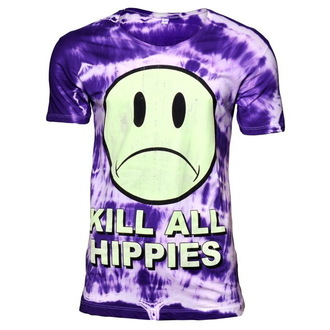 t-shirt hardcore men's - No Wave Hippy - DISTURBIA - 028