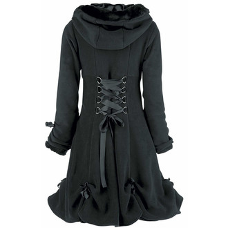 coat women's POIZEN INDUSTRIES - Alice - Black