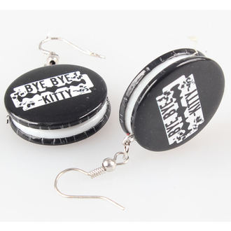 earrings POIZEN INDUSTRIES - BBBK Disc