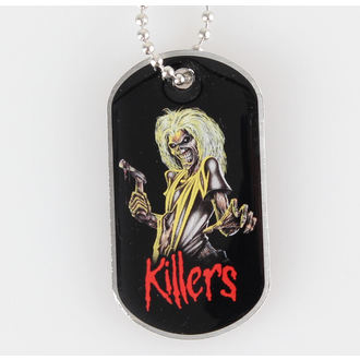collar (dog tag) IRON MAIDEN - Killers - RAZAMATAZ - DT026