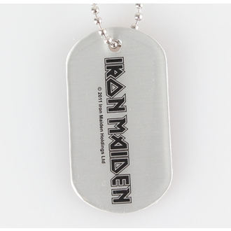 collar (dog tag) IRON MAIDEN - Logo - RAZAMATAZ, RAZAMATAZ, Iron Maiden