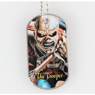 collar (dog tag) IRON MAIDEN - The Trooper - RAZAMATAZ - DT030