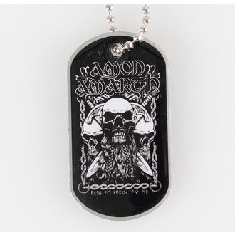 collar (dog tag) Amon Amarth - Bearded Skull - RAZAMATAZ - DT035