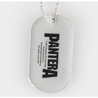 collar (dog tag) Pantera - 101 % Proof - RAZAMATAZ - DT047