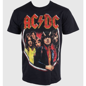 t-shirt men AC / DC - Highway Distress - Black - LIVE NATION - RTACDC3845