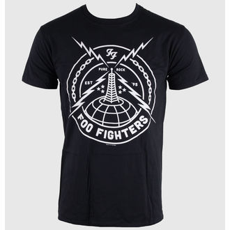 t-shirt metal men's Foo Fighters - Black Strike - LIVE NATION, LIVE NATION, Foo Fighters