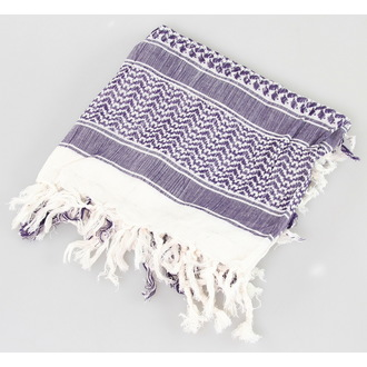 kerchief ARAFAT - palestine - white and purple