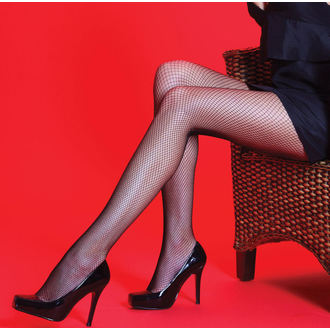 tights Legwear - Scarlet - Fishnet - SHSCFT2BL1
