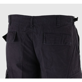shorts men MIL-TEC - US Bermuda - Prewash Black