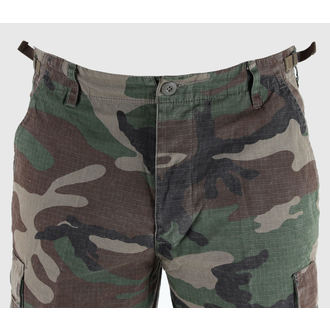 shorts men MIL-TEC - US Bermuda - Prewash Woodland