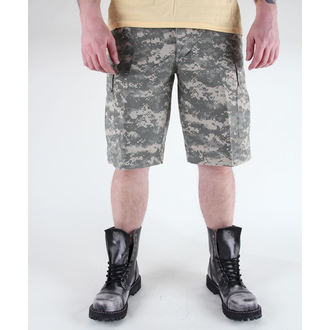 shorts men MIL-TEC - US Bermuda - Prewash At-Digital - 11402070