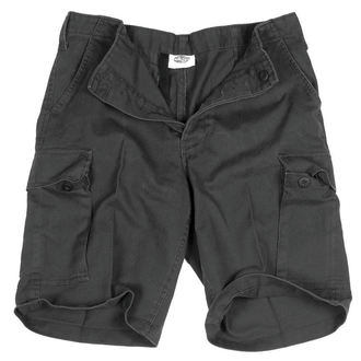 shorts men MIL-TEC - BW Bermuda - Prewash Black