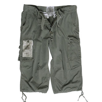 shorts men 3/4 MIL-TEC - Air combat - Prewash Olive - 11410001
