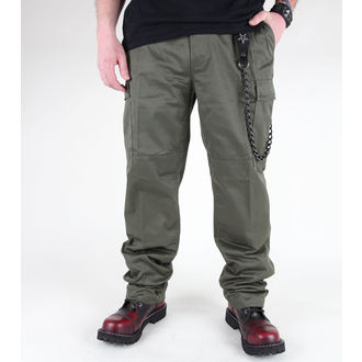 pants men MIL-TEC - US Feldhose - Olive - 11805001