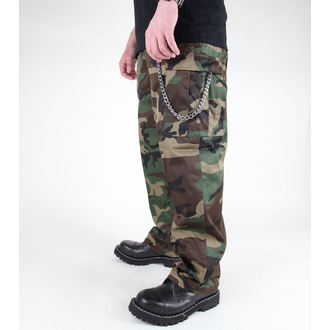 pants men MIL-TEC - US Feldhose - Woodland