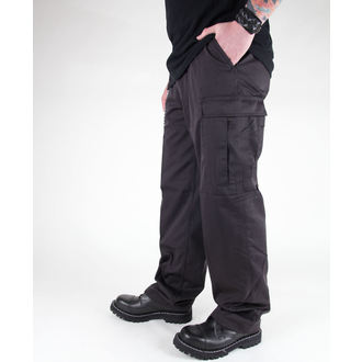 pants men MIL-TEC - US Ranger Hose - BDU Black- 11810002