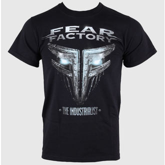t-shirt metal men's Fear Factory - The Industrialist - LIVE NATION - RTFFA002