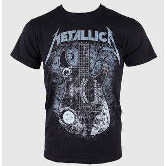 t-shirt men Metallica - Kirk Ouija board Guitar - Black - ATMOSPHERE