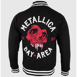 sweatshirt (no hood) men's Metallica - Bay Area Skull - NNM, NNM, Metallica