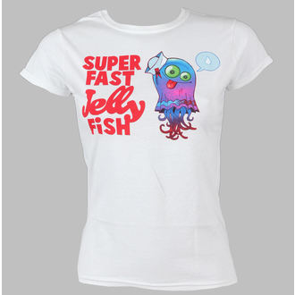 t-shirt metal women's Gorillaz - Jellyfish - LIVE NATION, LIVE NATION, Gorillaz