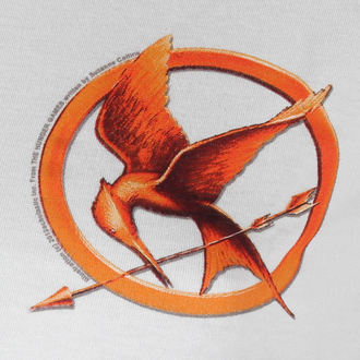 film t-shirt women's Hunger Games - Mocking Jay Pin - LIVE NATION - PE9613SKW