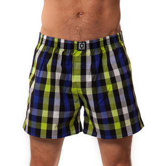 boxer shorts men Horsefeathers - Sin - LIME